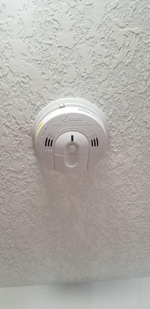 Smoke Detector installed