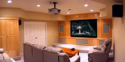 Home Theater Lighting Concept