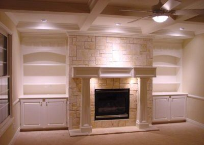Fireplace Lighting Concepts